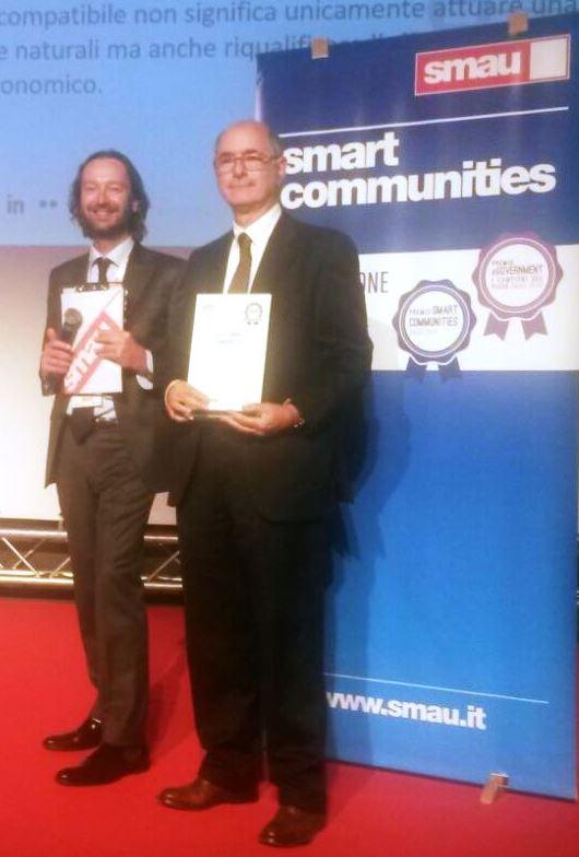 22/10/2015 ENEA si aggiudica il premio Smart Communities per il Progetto Egadi